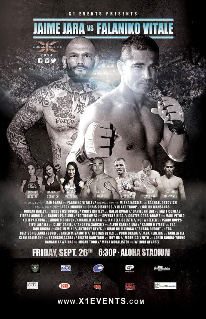 X1 Aloha Stadium Hawaii Pro MMA
