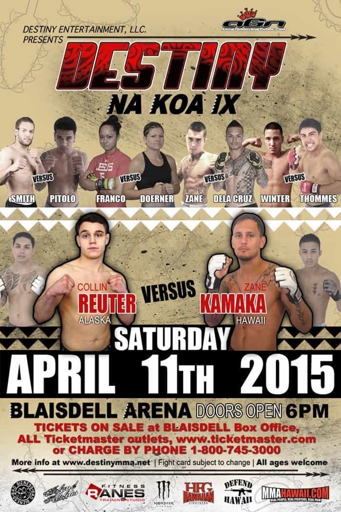 DESTINY MMA Na Koa 9