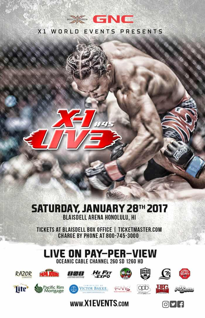 X1 #45 Live from Honolulu Jan 28 2017
