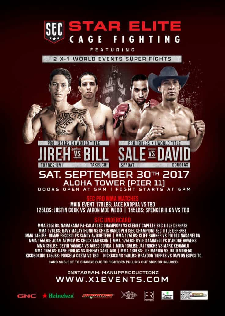 X1 World Events MMA Aloha Tower