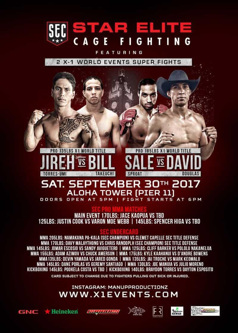 X1 World Events MMA Aloha Tower