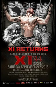 Pro MMA Returns to the Blaisdell Arena