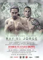 X1 48 Live on Pay Per View Ray Cooper III vs Jorge Patino Aug 12