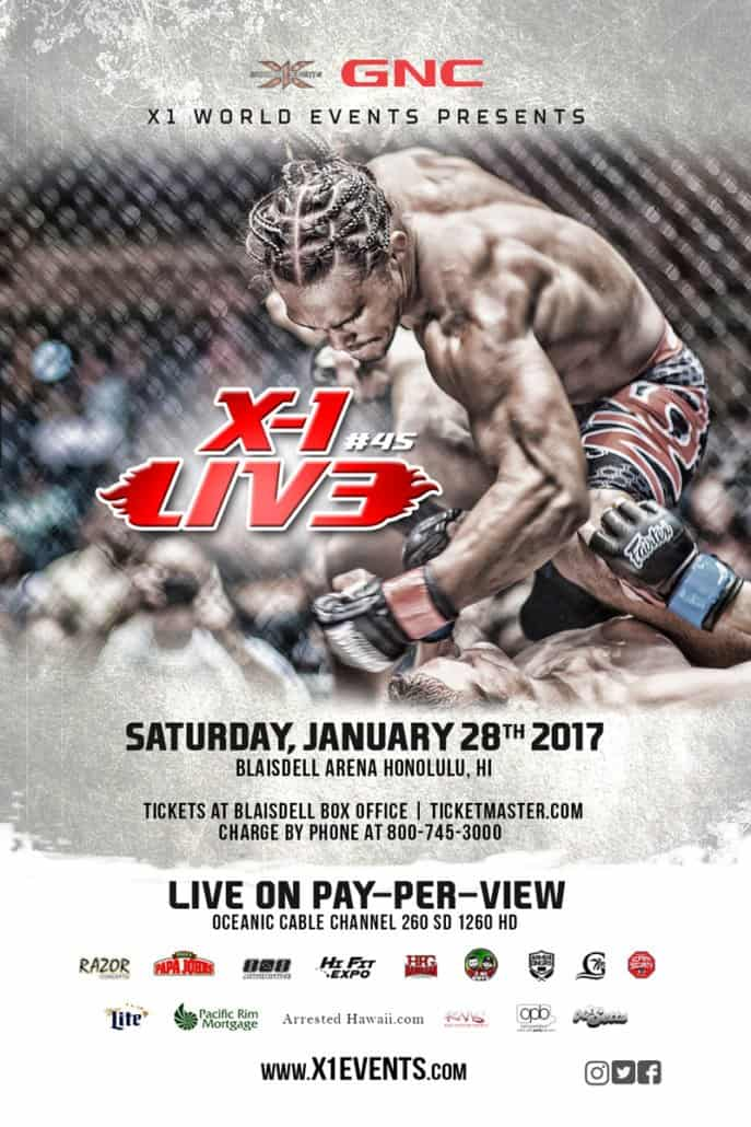Mixed Martial Arts MMA Hawaii Cage Fighting