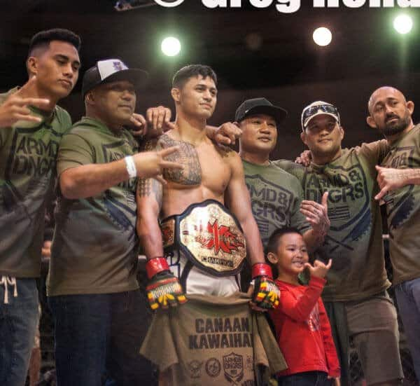 Canaan Kawaihae X1 World Events MMA Champion