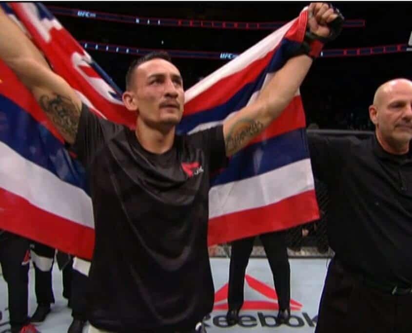 Max Holloway UFC Hawaii