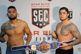 Clemet Capelle vs Namakana Pa-kala (SEC Champion) Amateur Mma 205lbs 3X3 Minute Rounds SEC Title Defense