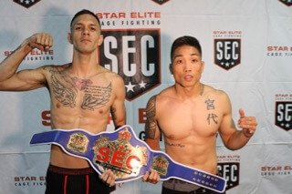 Zaxton Kamaka vs Sandy Aviguetero Amateur Mma 145lbs 3X3 Minute Rounds SEC Vacant Title