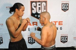Joe Manuia vs Julio Moreno Amateur Mma 130lbs 3X3 Minute Rounds