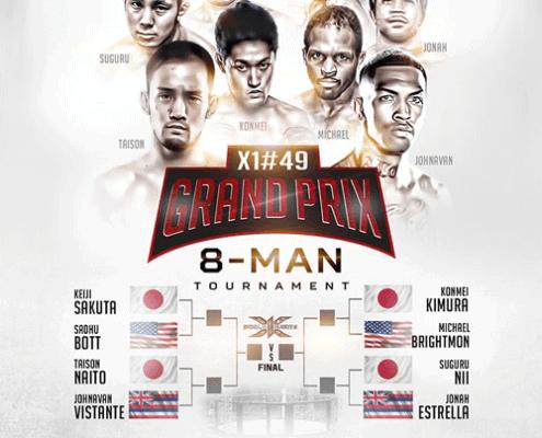 Hawaii Professional MMA Promotion X1 World Events Grand Prix
