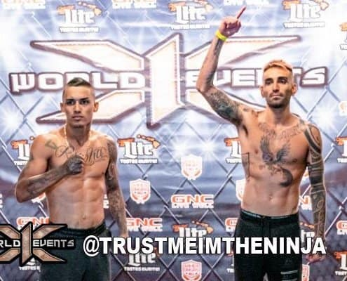 X1 51 Fighter Weigh ins at DNBHonolulu