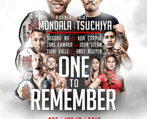 X1 MMA #51 One to Remember