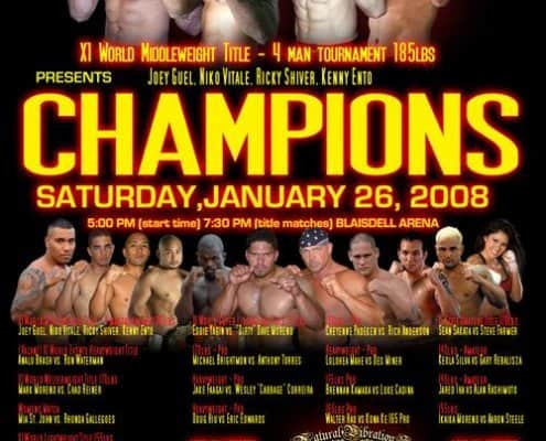 X1 Event Champions