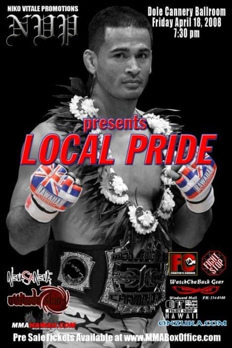 "X1 #15 ""Niko Vitale Promotions presents Local Pride"" April 18, 2008."