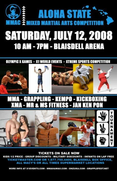 """X1 #16 """"MMAC"""" Mixed Martial Art Competition July 12, 2008"""