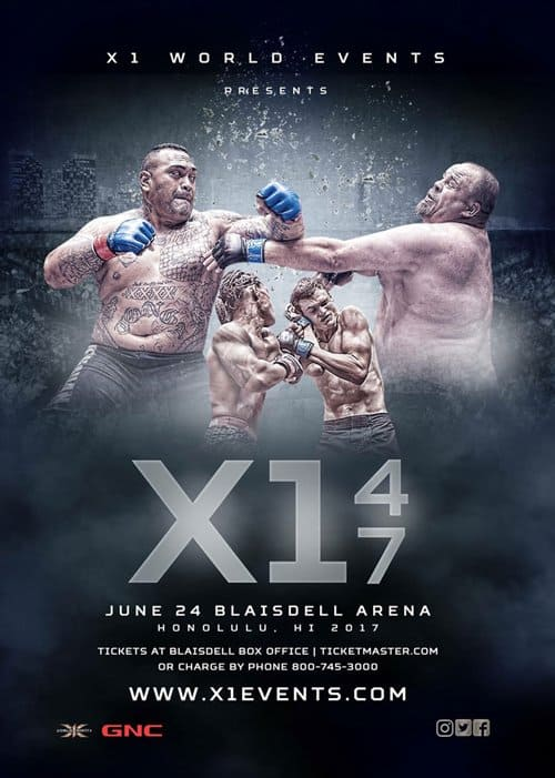 X1 47 Fight Card Results