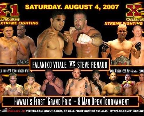 "X1 Events #9 ""Grand Prix"" Aug 4, 2007 - Hawaii's First Grand Prix"
