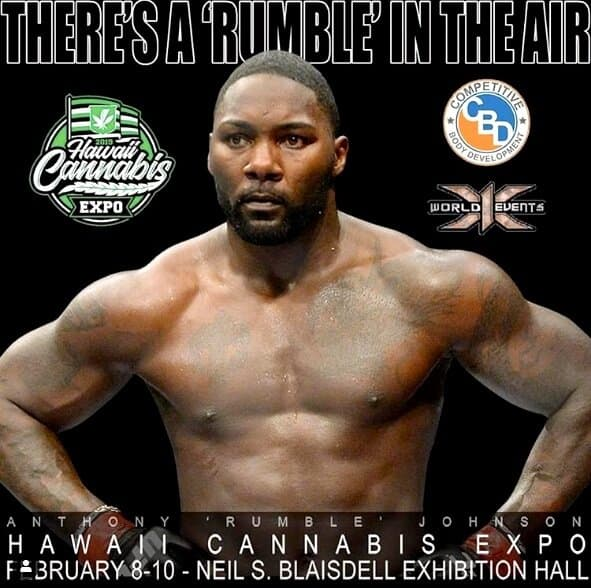 Anthony Rumble in Expo