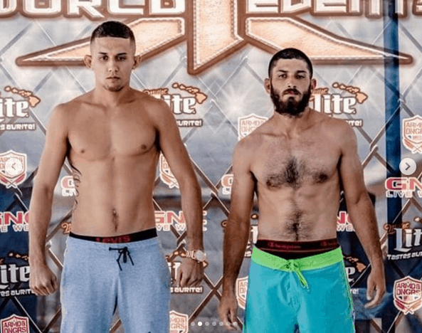 X1-52 Weigh-in Braydon Akeo vs Austin Bloch