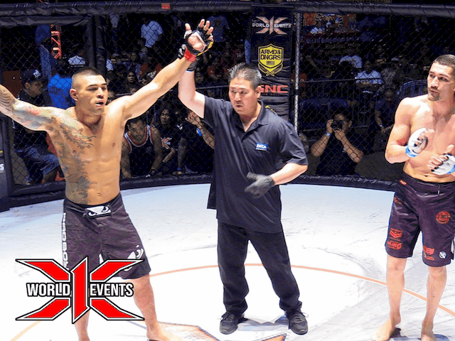 Ben Wilhelm from Oahu defeats Hugo Lujan from California