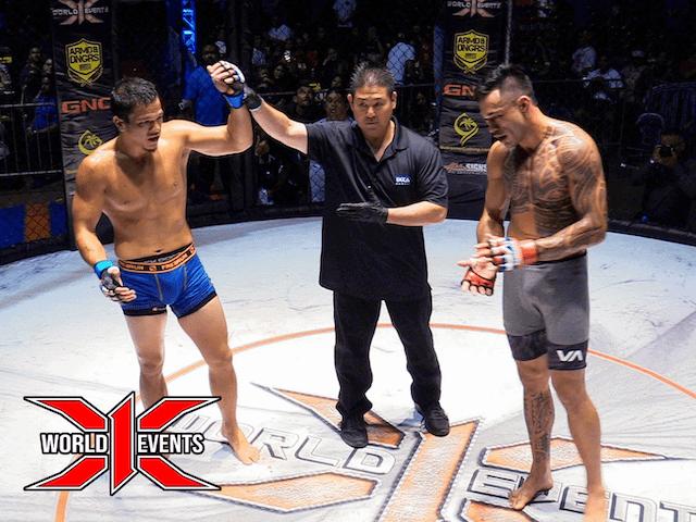 Dustin Ching from Oahu defeats Daylan Cummings from Kauai