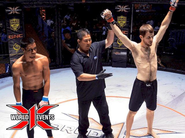 Jake Monroe from Kauai defeats Akeem Coit from Oahu