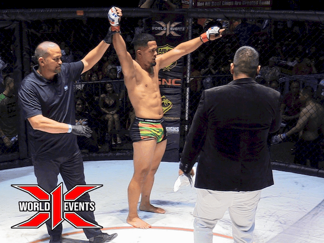 Justus Faaiu from Oahu defeats Maika Graf from Alaska