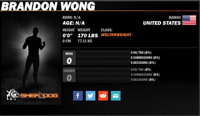 Brandon Wong Profile