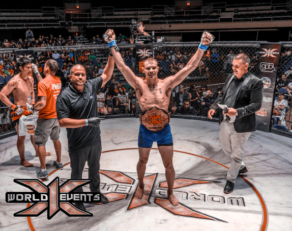 Adam Fugitt X1 Champion 170LB WORLD TITLE