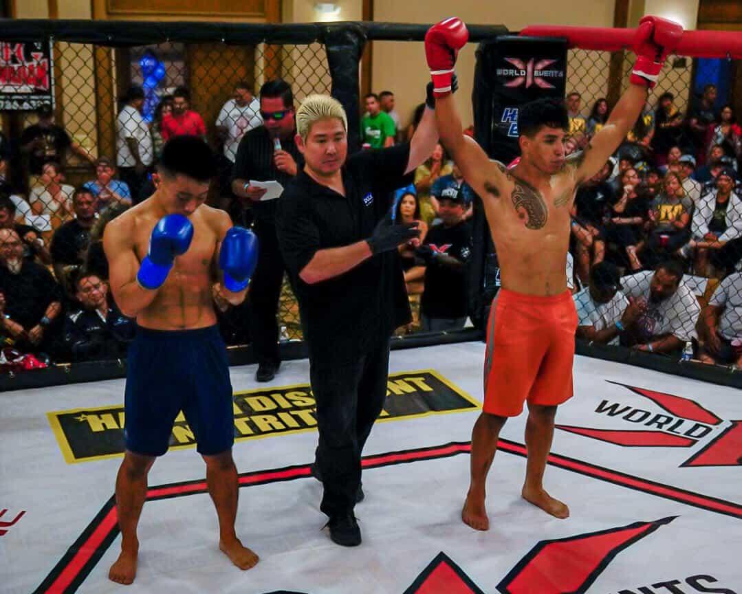 Joshua Acevedo defeated Takehito Imanari