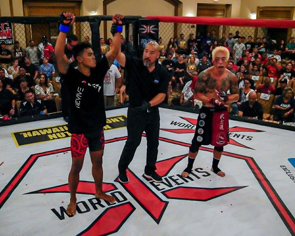 Kaylan Gorospe defeated Jared Iha