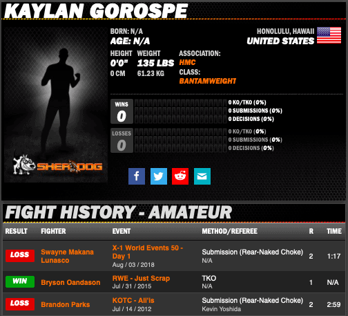 X1 FIGHTER - Kaylan Gorospe