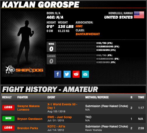 X1 FIGHTER - Kaylan Gorospe