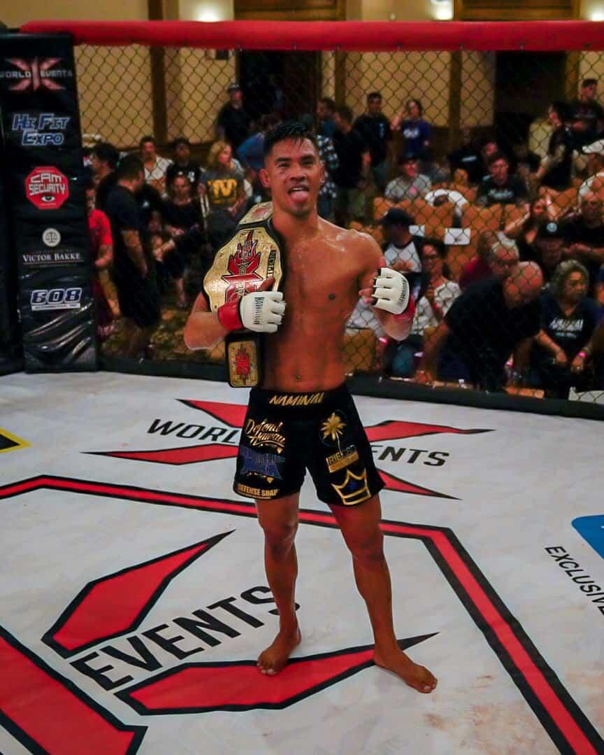 Tyson Nam X1 125lb World Champion