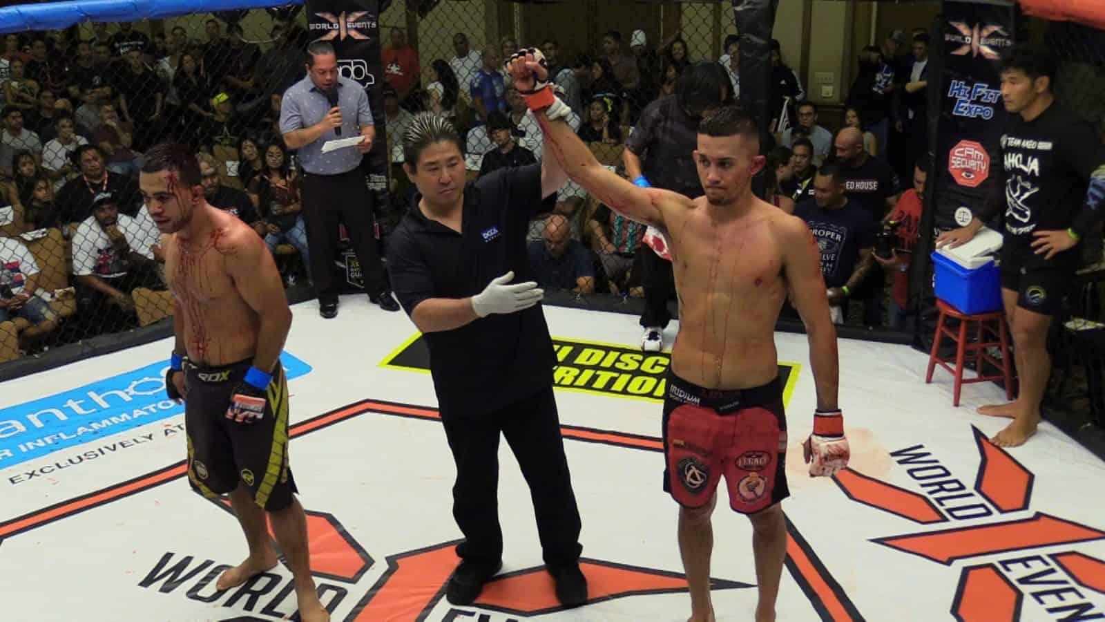 Braydon Akeo defeated Jonah Estrella via TKO - Doctor Stoppage