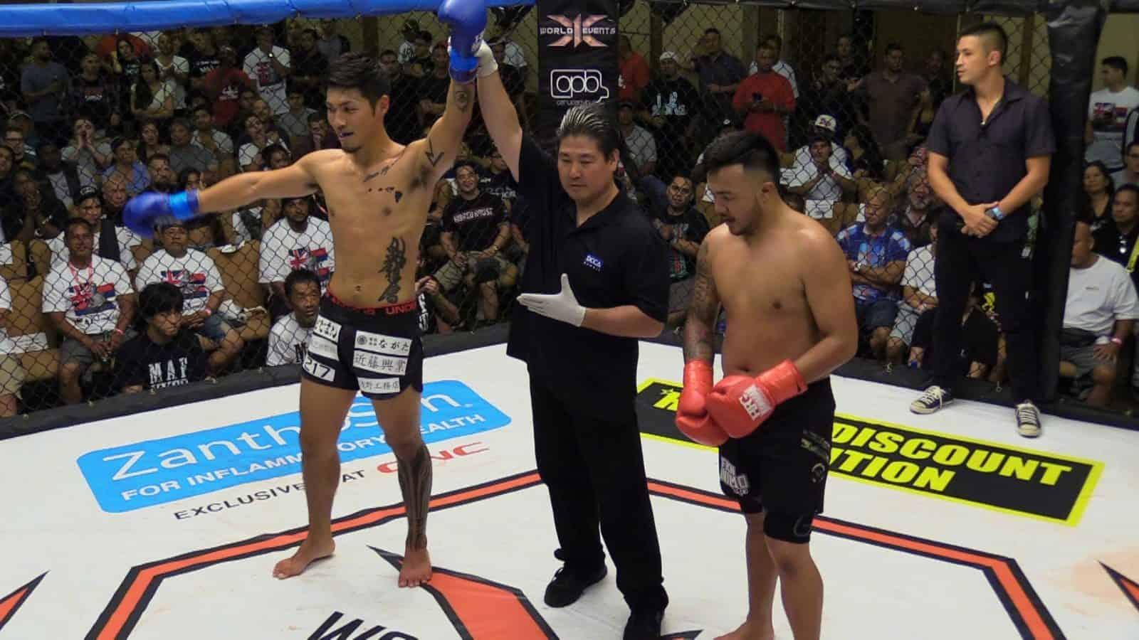 Koki Shimokawa defeated Brysen Bolahao via Decision