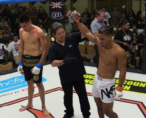 Makoa Cooper defeated Nathan McKenzie via Submission
