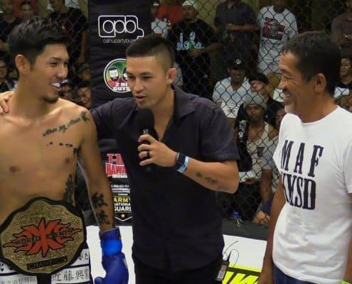 Martin Day interviewing Koki Shimokawa