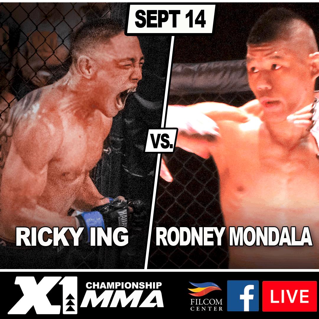 Ricky Ing vs Rodney Mondala