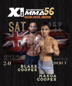 X1 56 Cooper Brothers Blake Cooper and Makoa Cooper