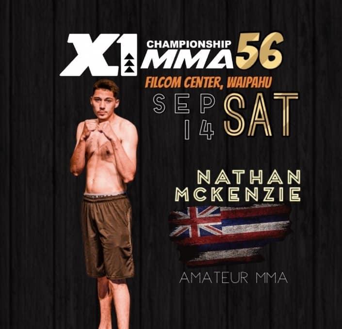 X1 56 Nathan McKenzie
