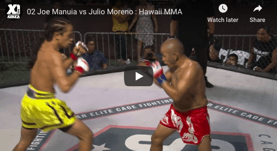 02 Joe Manuia vs Julio Moreno Hawaii MMA