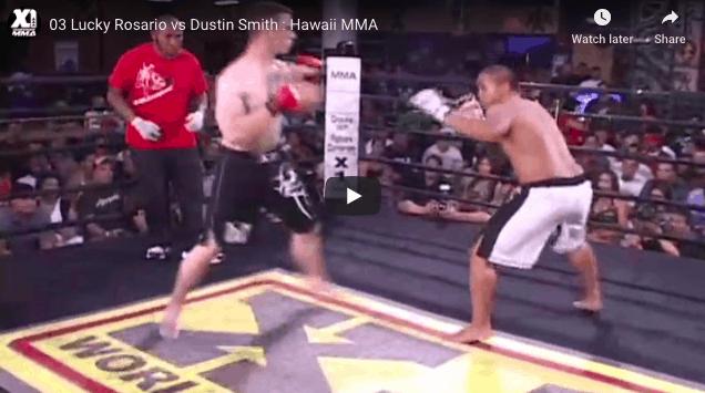 03 Lucky Rosario vs Dustin Smith : Hawaii MMA