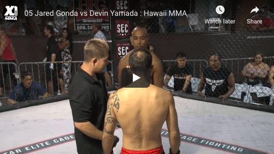 05 Jared Gonda vs Devin Yamada : Hawaii MMA