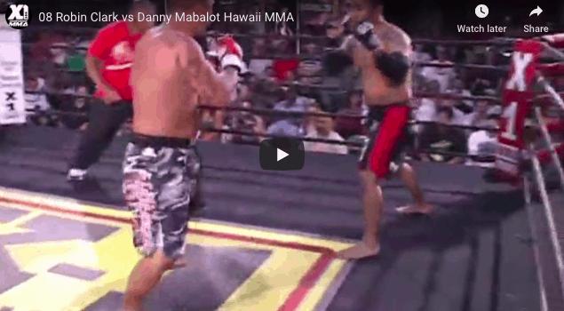 08 Robin Clark vs Danny Mabalot Hawaii MMA