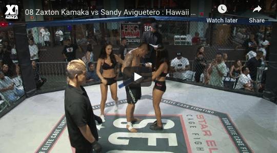 08 Zaxton Kamaka vs Sandy Aviguetero : Hawaii MMA