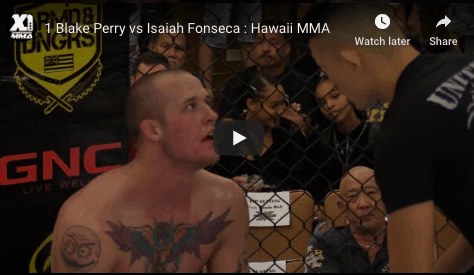 1 Blake Perry vs Isaiah Fonseca : Hawaii MMA