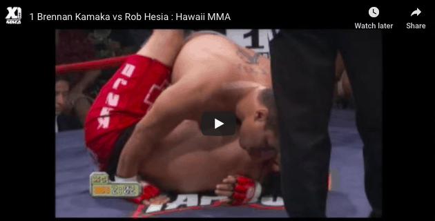 1 Brennan Kamaka vs Rob Hesia : Hawaii MMA