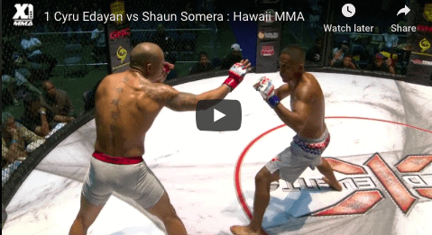1 Cyru Edayan vs Shaun Somera : Hawaii MMA