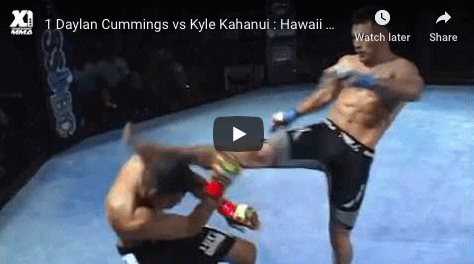 1 Daylan Cummings vs Kyle Kahanui Hawaii MMA